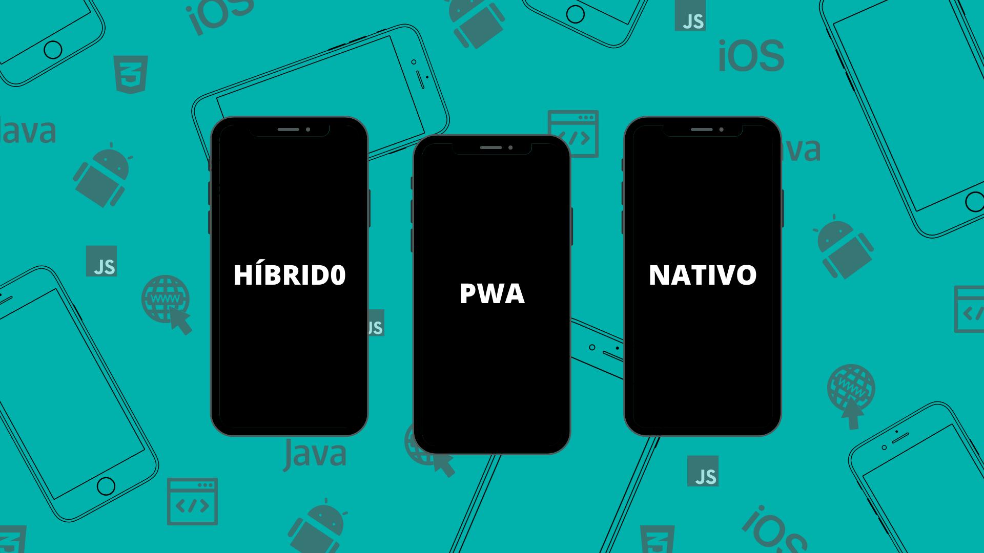 aplicativo hibrido nativo pwa possible