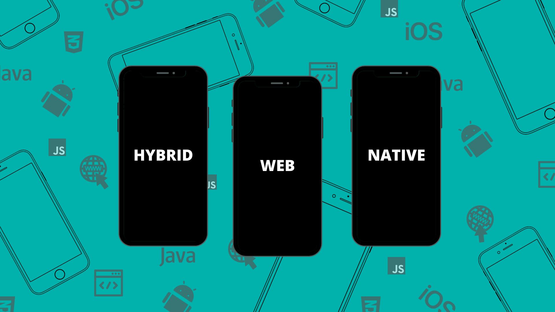 App hybrid native web possible